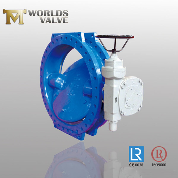 WRAS approval u section type butterfly valve