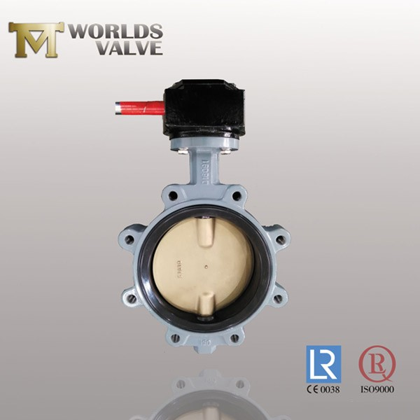 Acs Approval Nylon Coat Disc Epdm Lug Butterfly Valve