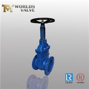 Awwa C509 OSY Rising Stem Double Flanged Gate Valve