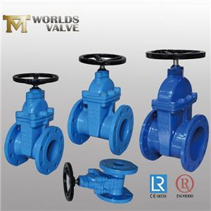 Awwa C515 No Rising Stem Double Flanged Gate Valve