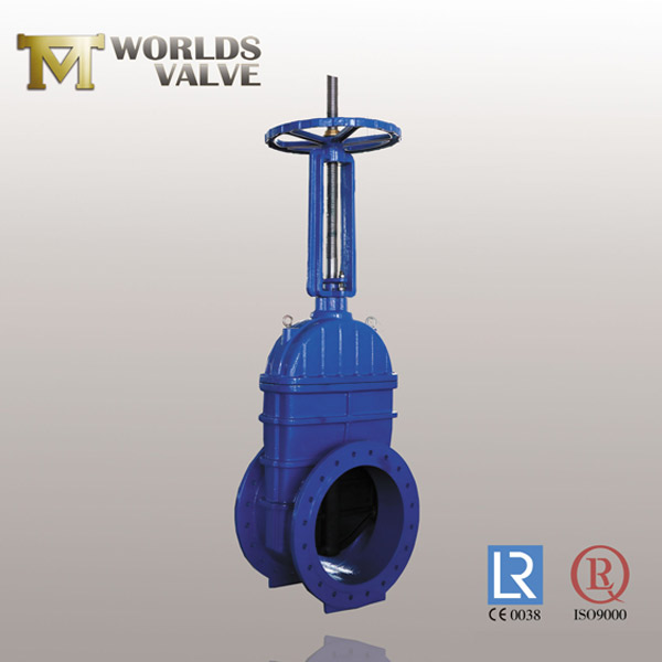 awwa c515 double flanged gate valve