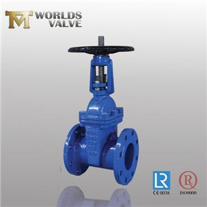 BS5163 OSY Rising Shaft Double Flanged Gate Valve
