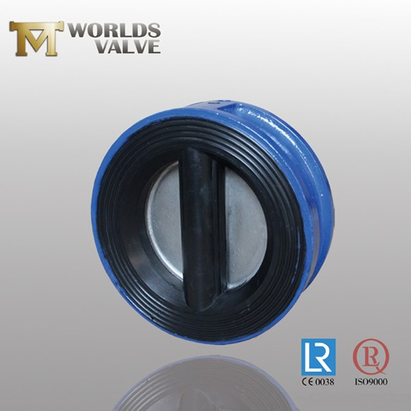 Bs Standard Wafer Epdm Lined Dou Plate Check Valve