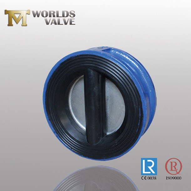 Din Standard Rubber Lining Body Wafer Check Valve