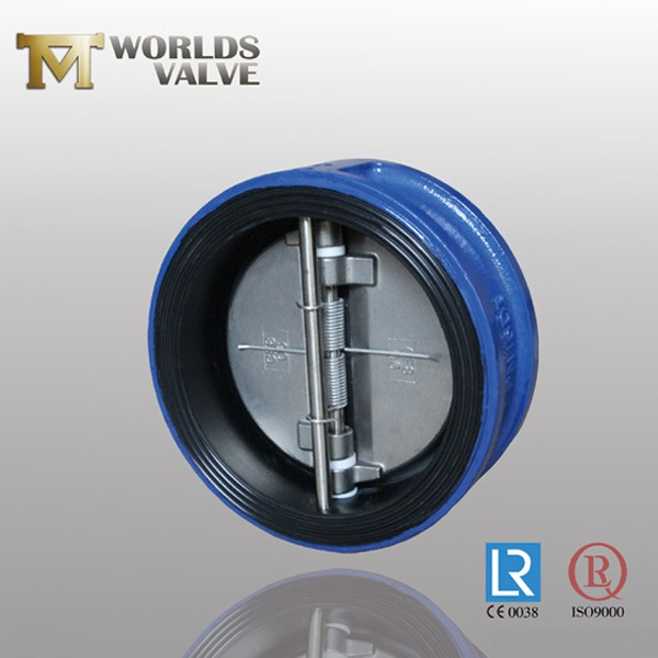 Double Flanged Rubber Lining Din Standard Check Valve