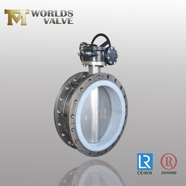 PFA Lined Plate Double Flanged Type Butterfly Valve Manufacturers, PFA Lined Plate Double Flanged Type Butterfly Valve Factory, Supply PFA Lined Plate Double Flanged Type Butterfly Valve