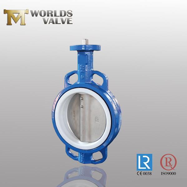 manual operation wafer butterfly valve