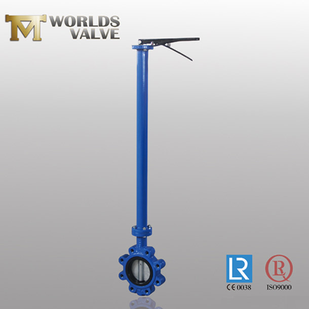 rubber seated lug butterfly valve