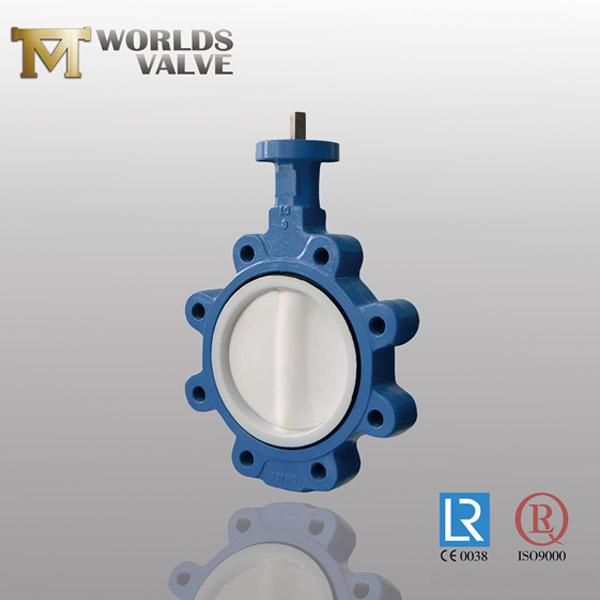 ACS approval lug butterfly valve