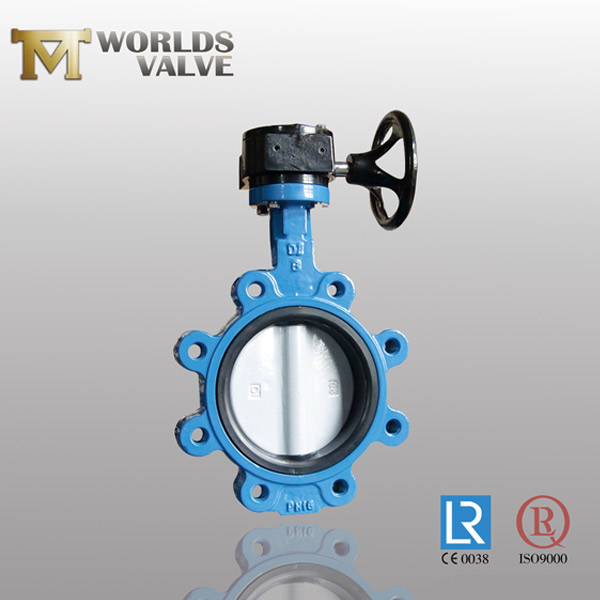 double flanged butterfly valve