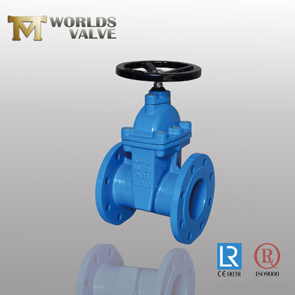 OSY rising stem flanged gate valve