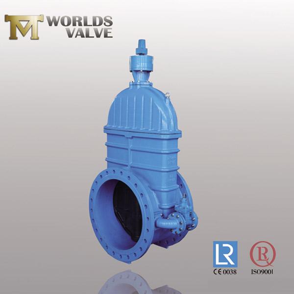 OSY rising shaft flanged gate valve