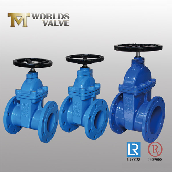 rising stem rubber seated gate valve