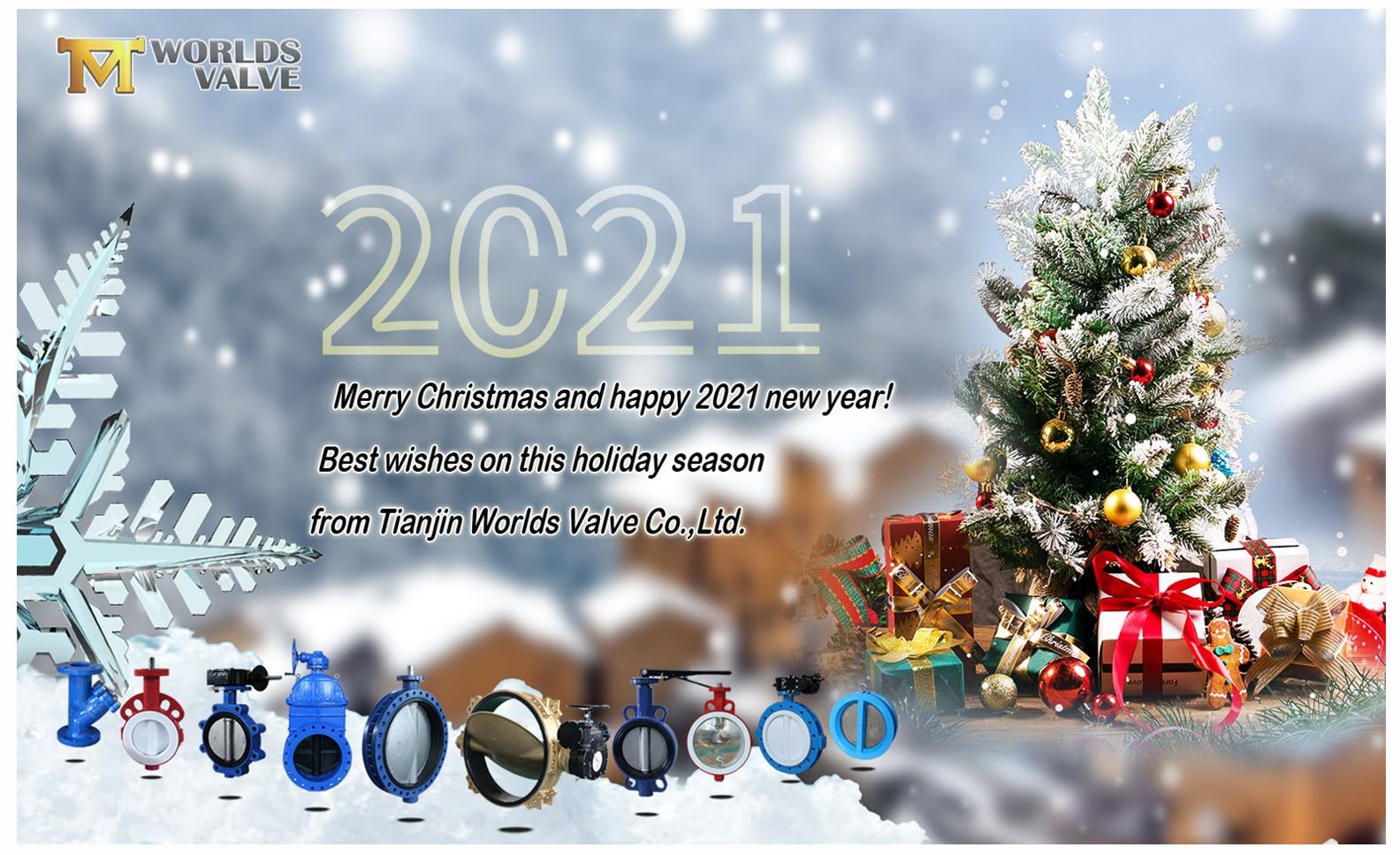 Frohe Weihnachten! Die besten Wünsche von Tianjin Worlds Valve!