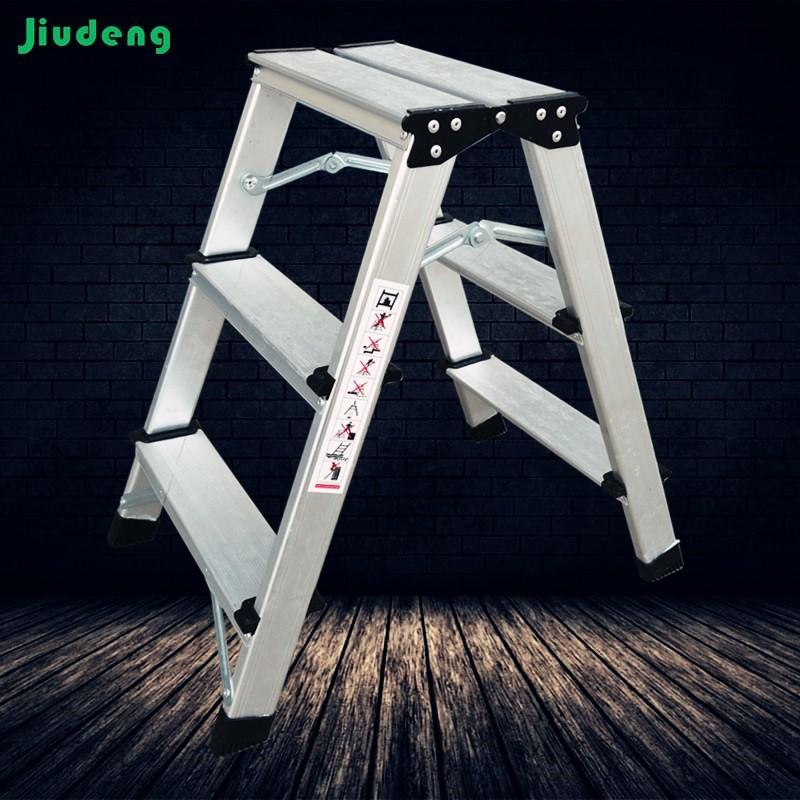 Aluminum Folding Ladder 2 3 4 5 6 7 Steps Alu. Ladder