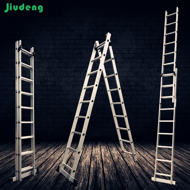 2 / 3 Section Aluminum Extension Ladder