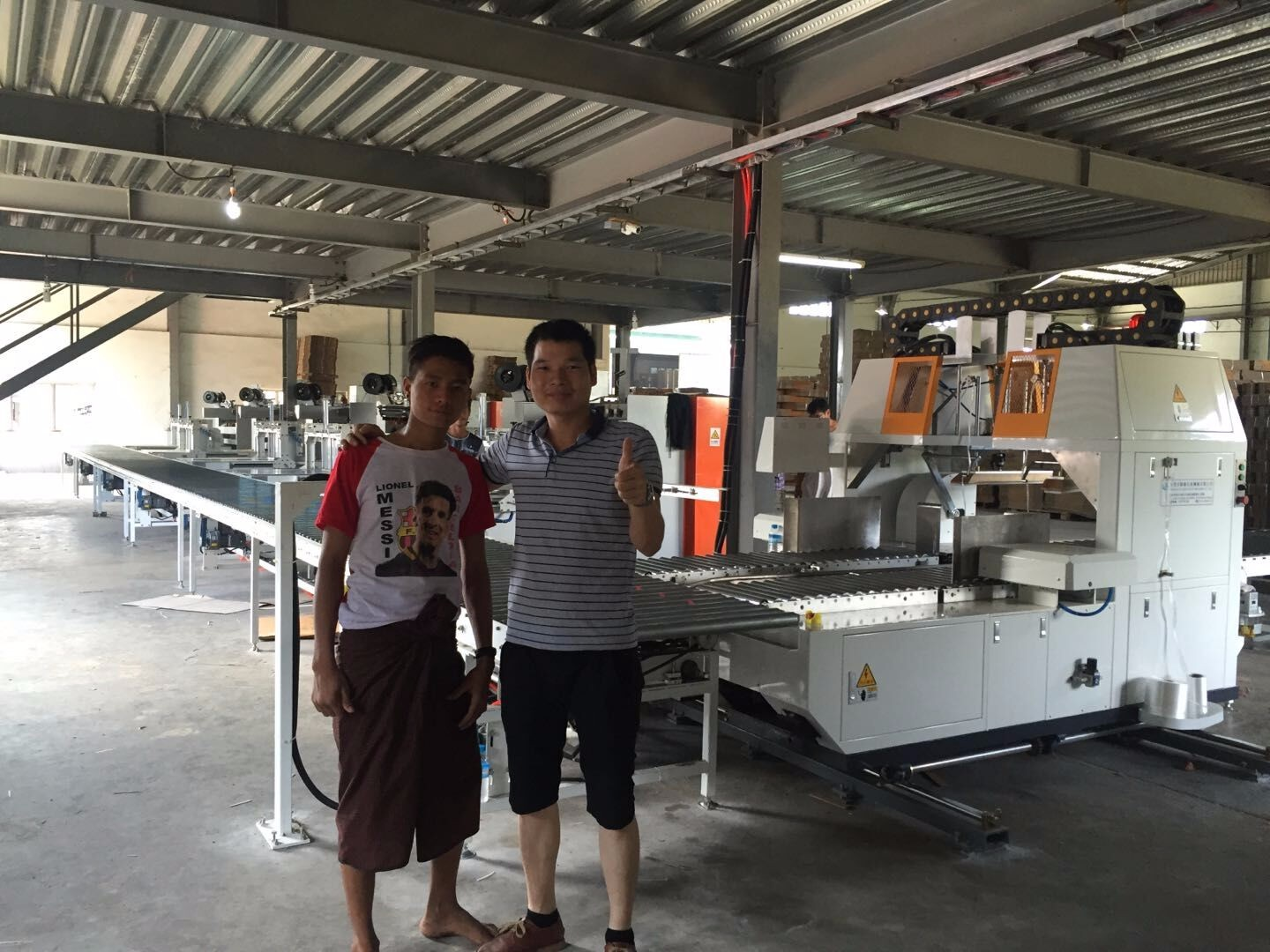 Vietnamese customer bundling machine successful commissioning