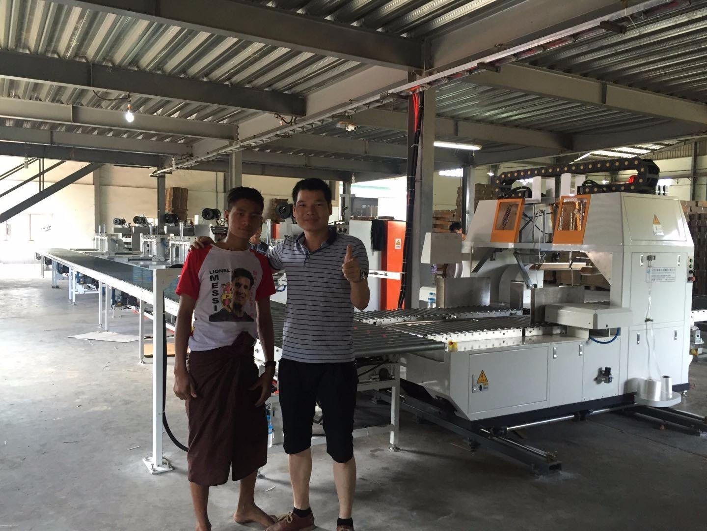 Vietnamese customer bundling machine successful commissioning