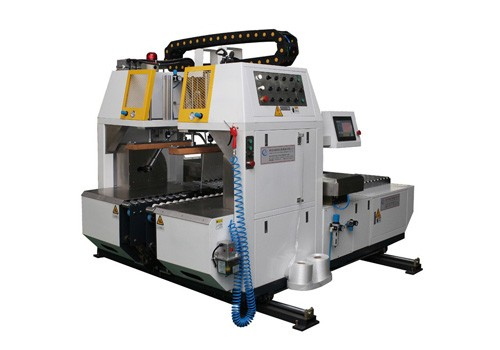 Economico Integra varie macchine per impacchettare il cartone di larghezza