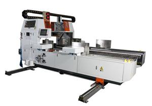 2.5m In Line Corrugated Board Bundling Machine