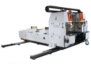1.8m In Line Corrugated Board Bundling Machine