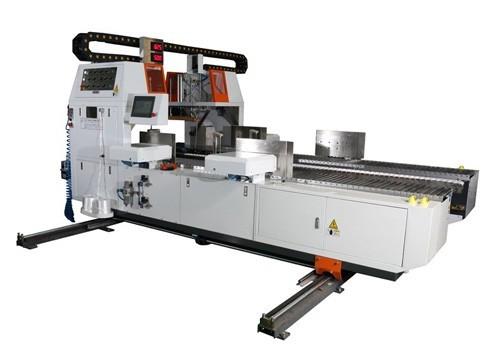 Off line board bundling machine