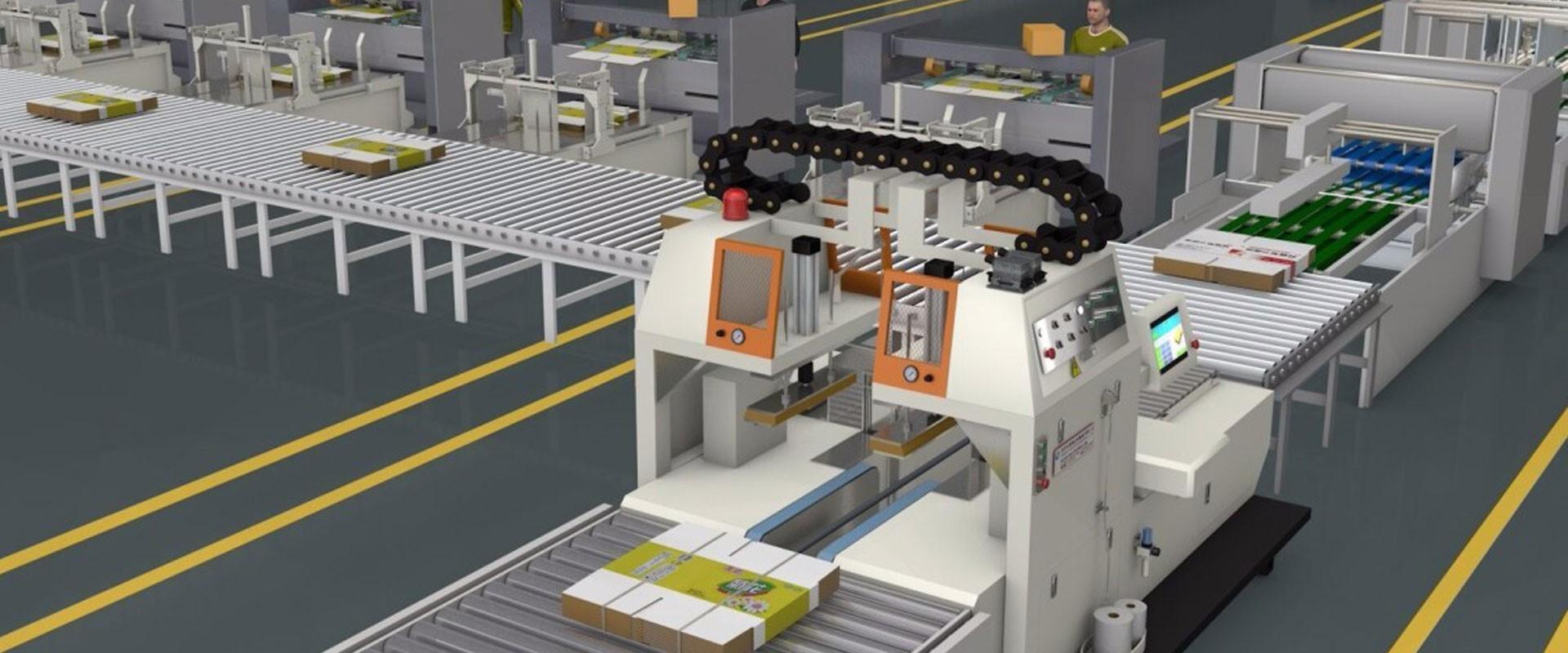 Menggabungkan Mesin Bundling Carton