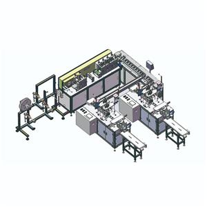 Fully automatic dispossible N95 KN95 3 ply ffp2 ffp3 surgical dust medical face mask mask making machine manufacturing machine maker machine