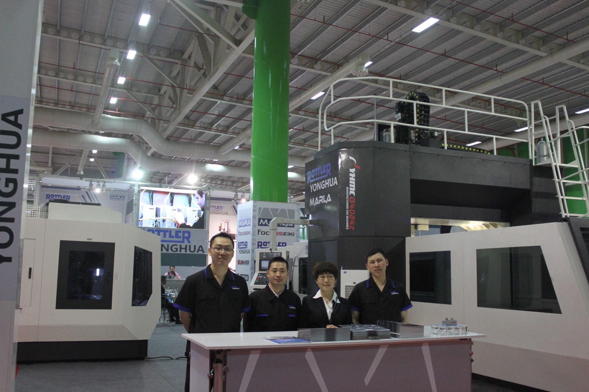 MAKTEK Machine Tool Fair 2016 Istanbu Turkey