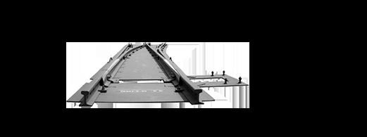 Machining center application in rail transportation