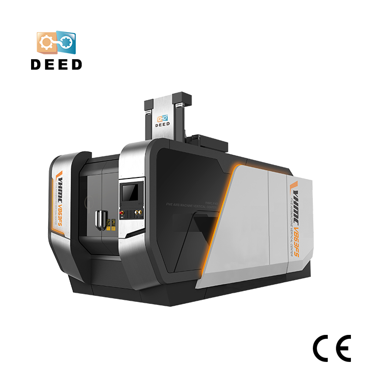 5 Axis Simulation CNC Machining Center VB63F5