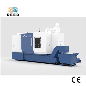 CNC Double Pole Horizontal Turning Machining Center