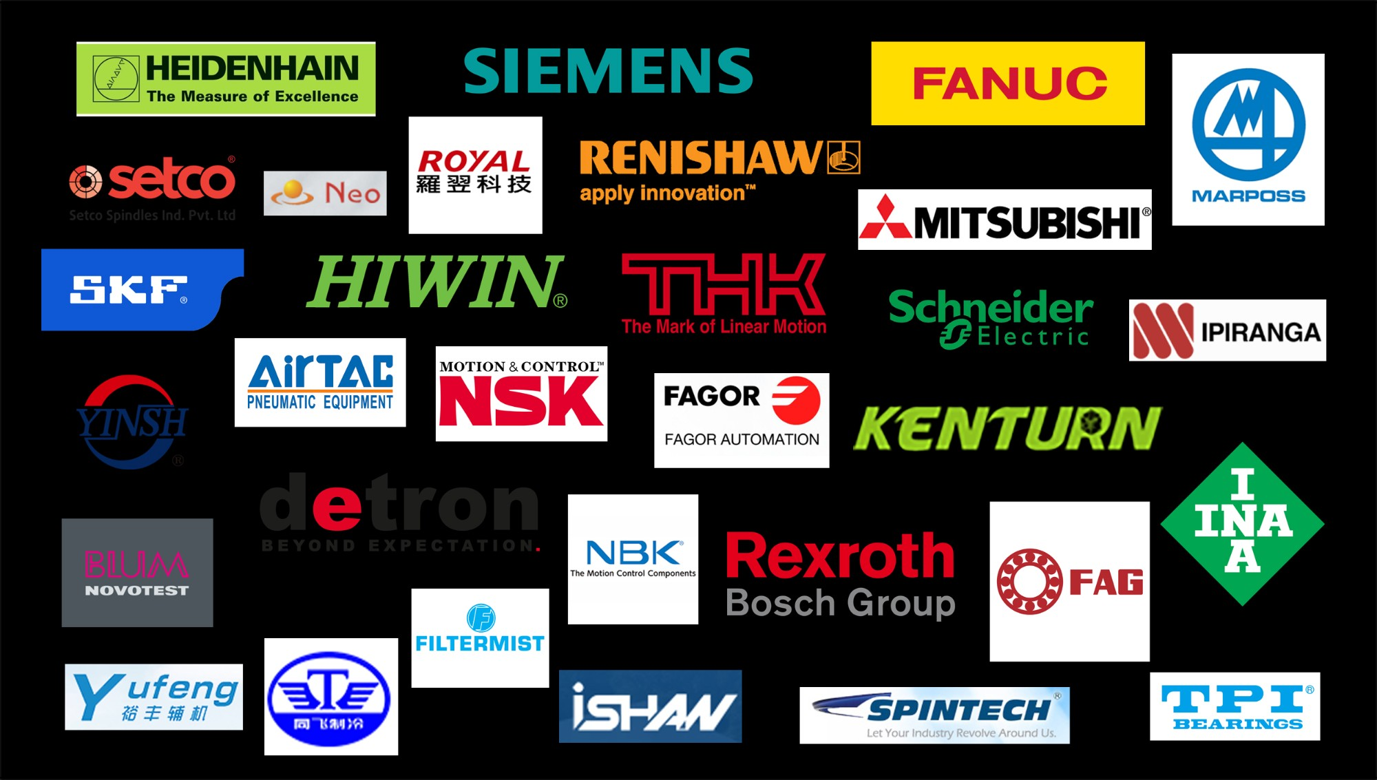 Main suppliers and partners