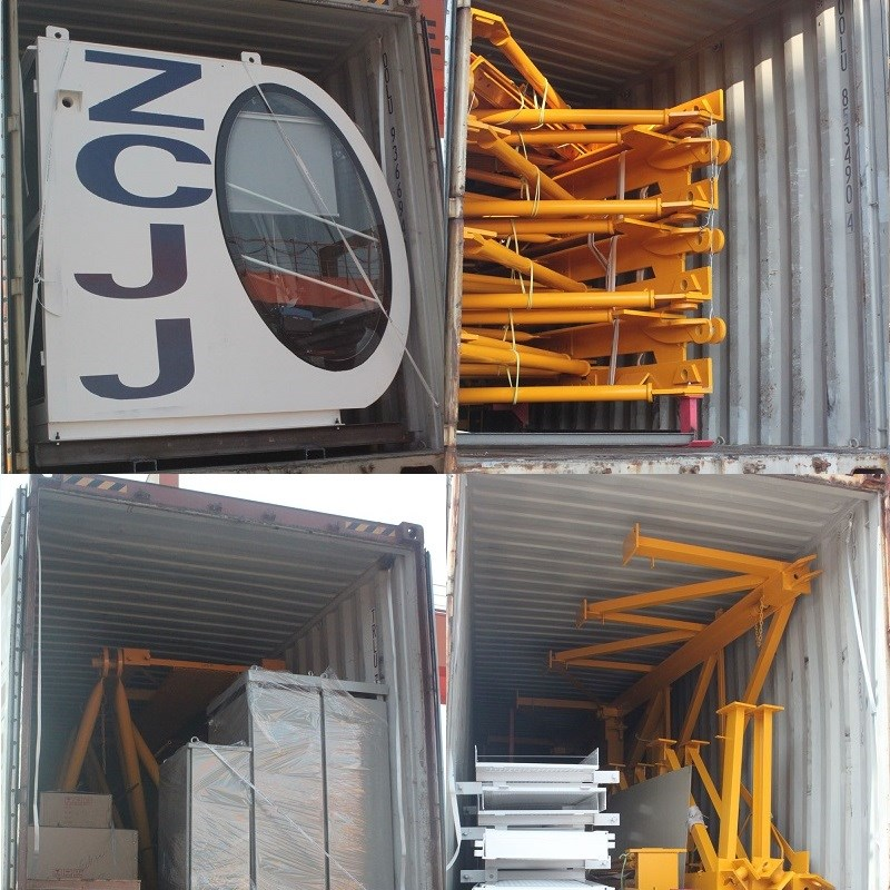 ZCJJ Tower Crane loading containers