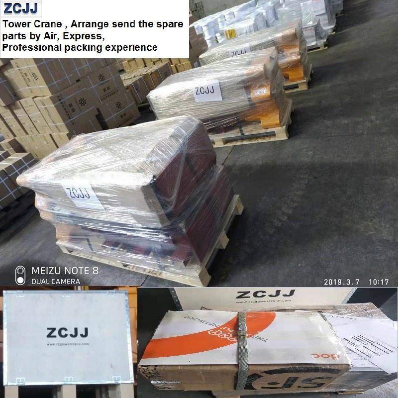 ZCJJ Tower Crane Factory Fast delivery