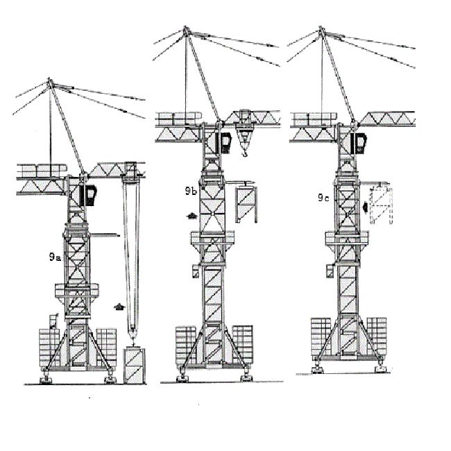 How to Jacking up Tower Crane