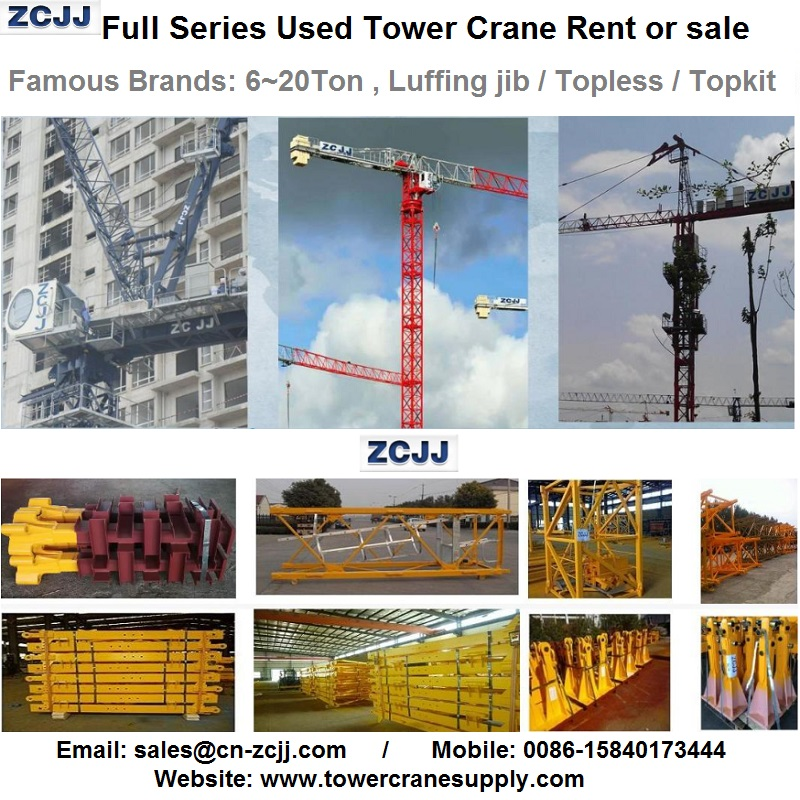 MDT249J10 Tower Crane
