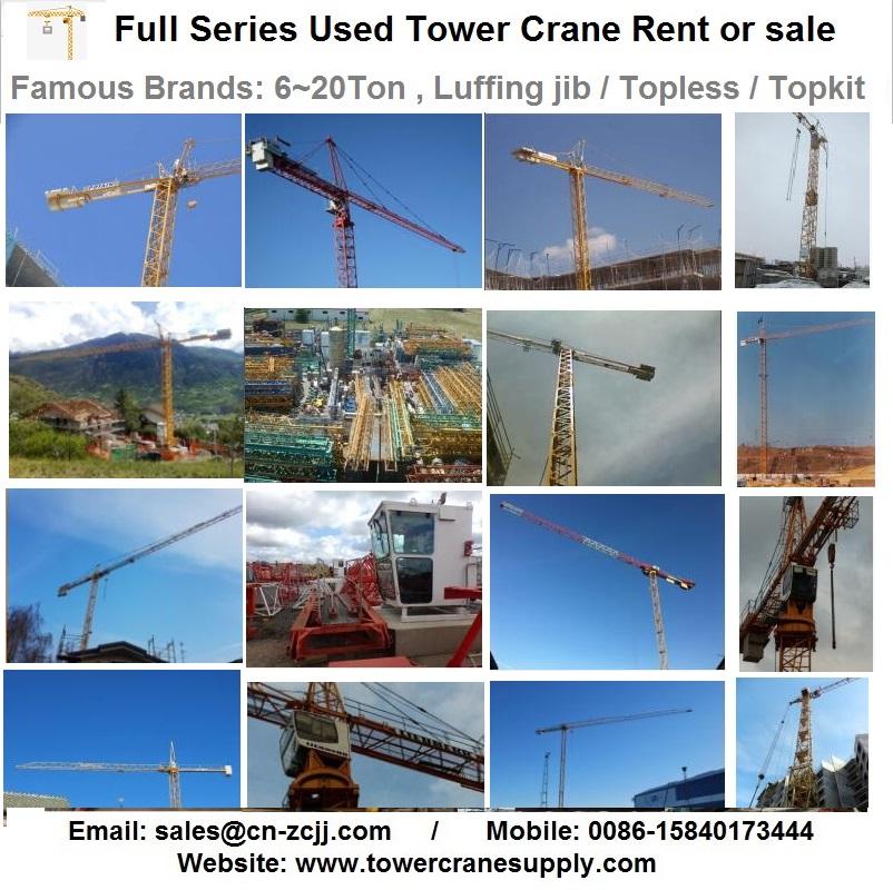 MDT259J10 Tower Crane Lease