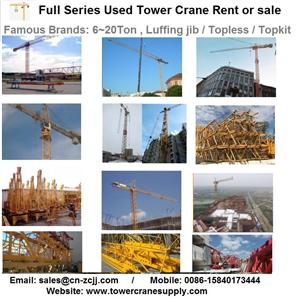 MDT259J10 Tower Crane Lease Rent Hire