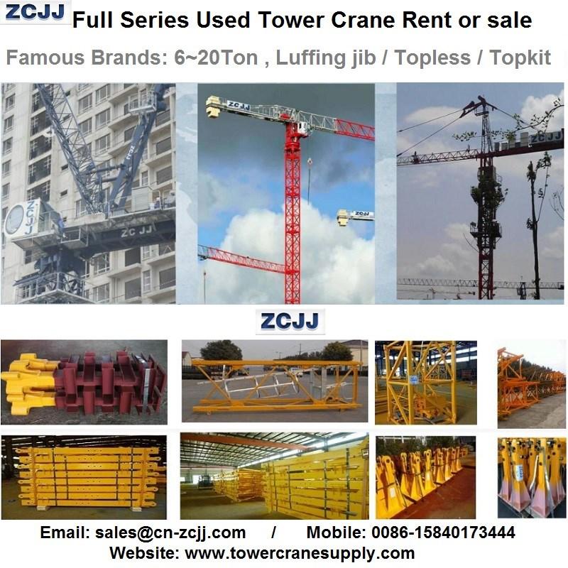 MDT259J12 Tower Crane Lease Rent Hire Manufacturers, MDT259J12 Tower Crane Lease Rent Hire Factory, Supply MDT259J12 Tower Crane Lease Rent Hire