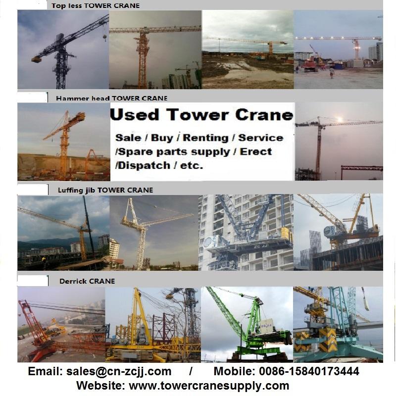 MCR160 Tower Crane