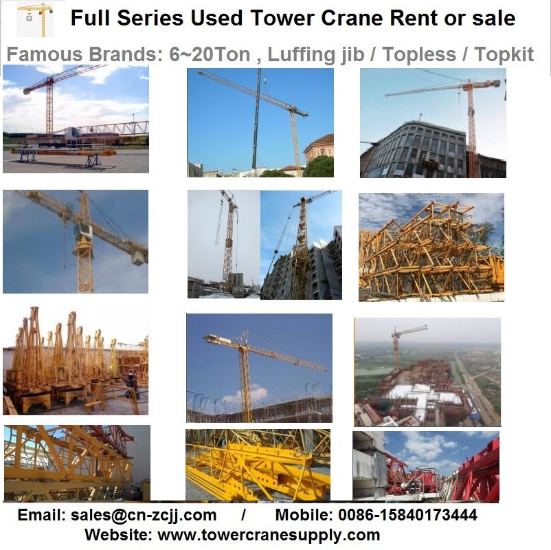 MCR295 H20 Tower Crane