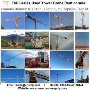 MC480 Tower Crane Lease Rent Hire