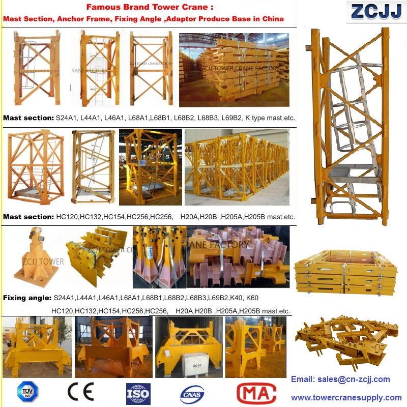 Liebherr 132HC Masts