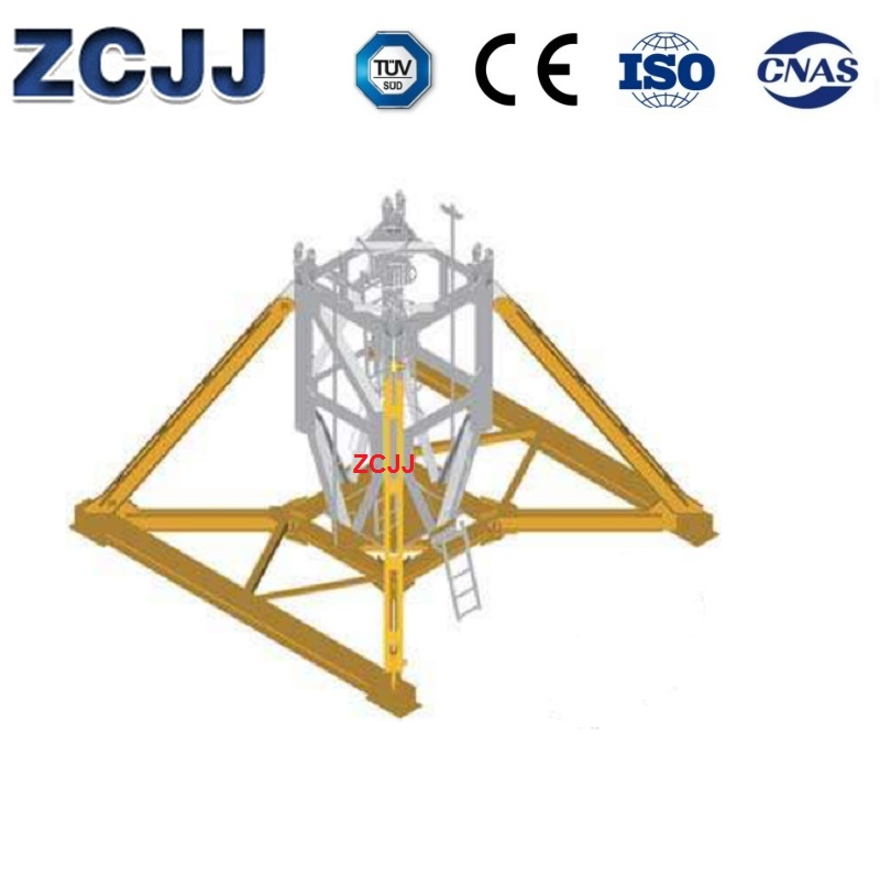 Tower Crane Base Fixed Chassis