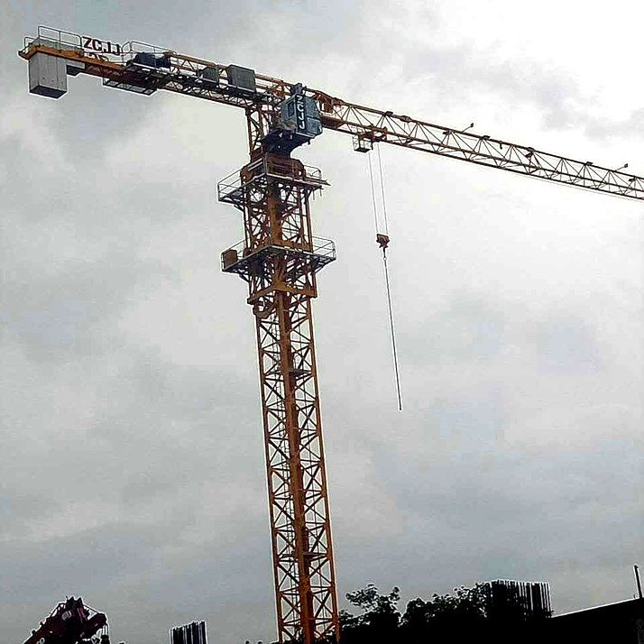 Topless 10Ton Tower Crane Flat Top