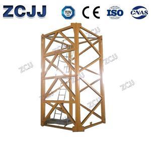 256HC Mast Seksyen Mengangkat kelajuan menara kren