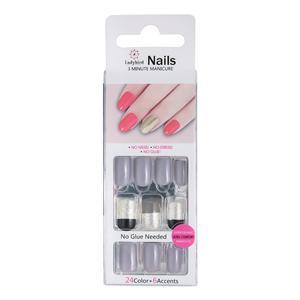 Πιέστε για την πλατεία Design Nails Gel Fantasy S937
