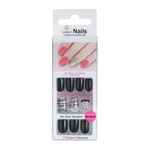 Drücken Sie auf Design Nails Glam Fantasy S941