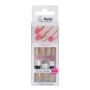 Drücken Sie auf Square Gloss Design Nails S944